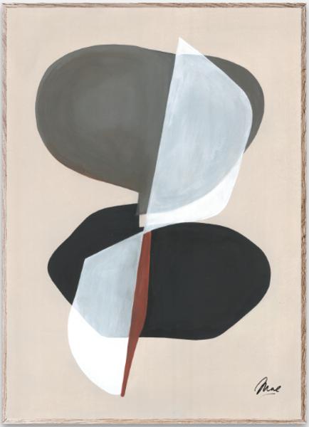 Bilde av Composition 01 - 50 x  70 cm
