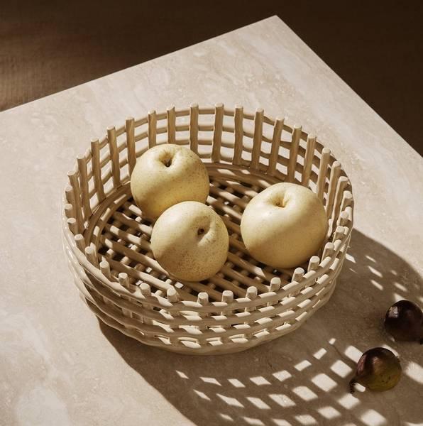 Bilde av Ceramic Centerpiece - Cashmere
