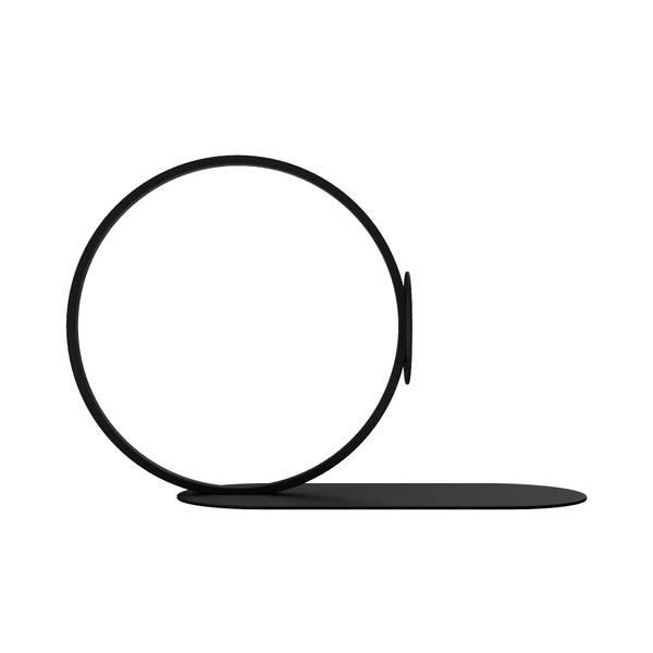 Bilde av Book Ring 10 cm - Svart
