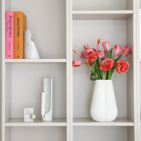 Bilde av Clover Vase - Hvit