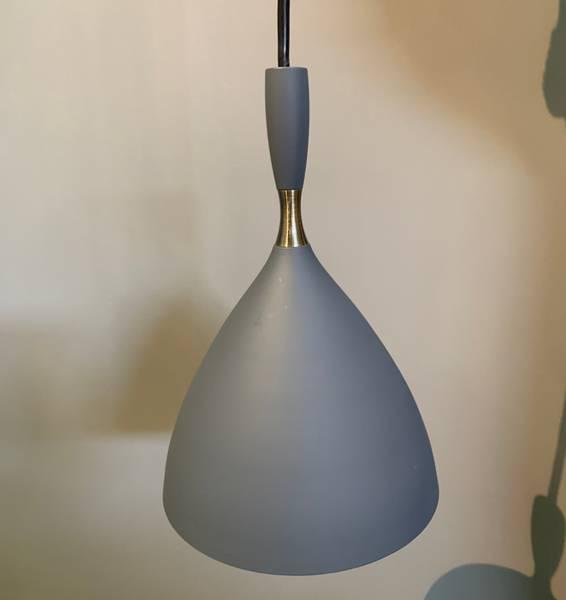 Bilde av Dokka pendel mørk grå - Utstilling