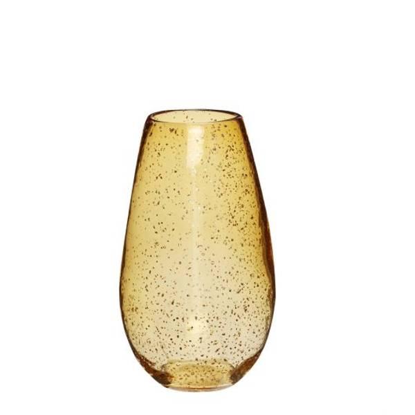 Bilde av Hübsch Amber glassvase